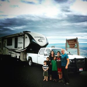 full-time RV family travel