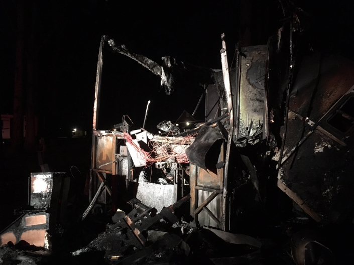 RV after the fire