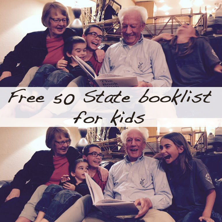 Curating a free 50 state booklist to share with you
