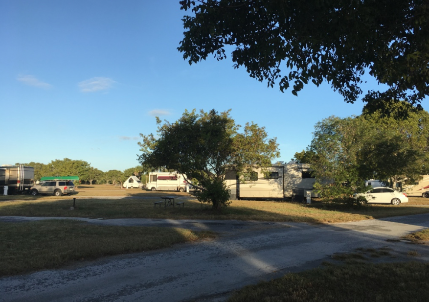 rv camping florida everglades national park