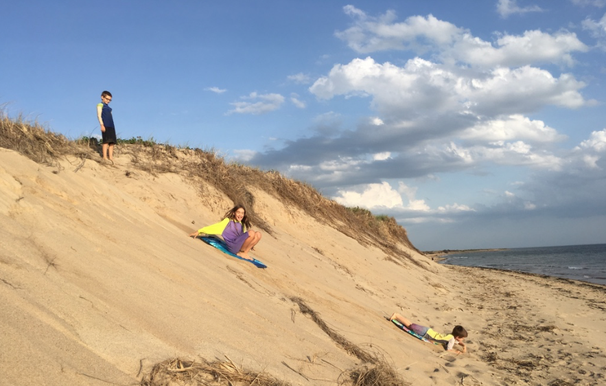 family visit to Cape Cod