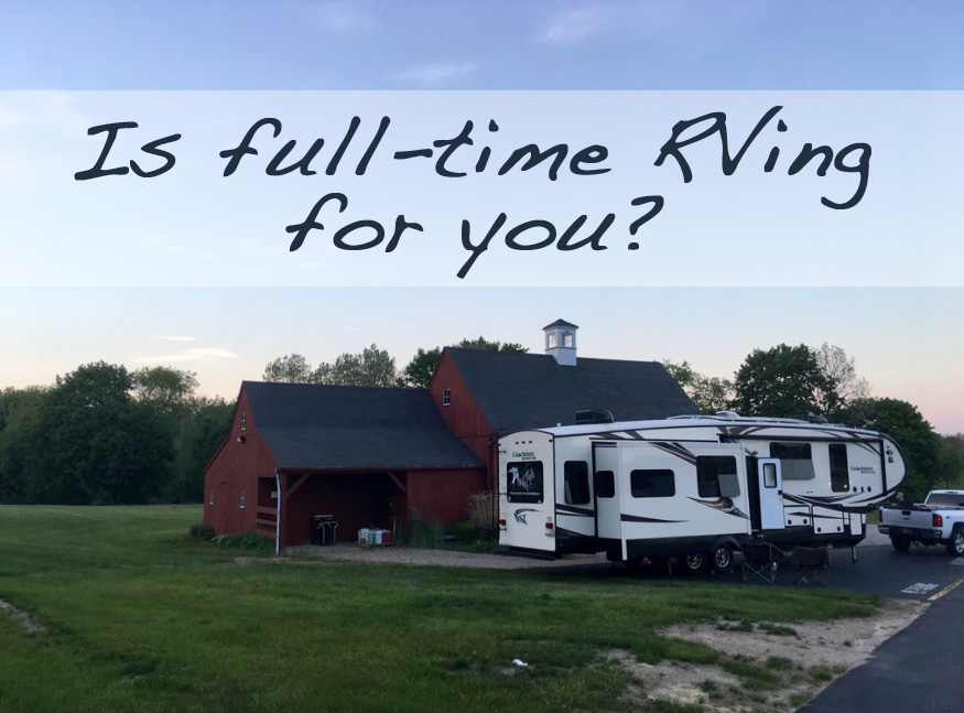 Is full-time RV living for you? Take this quiz to find out!