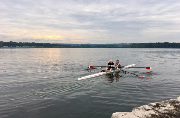 learning to row