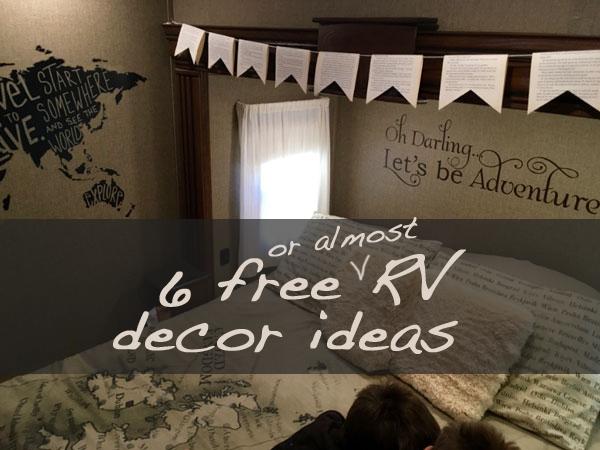 free RV decor ideas