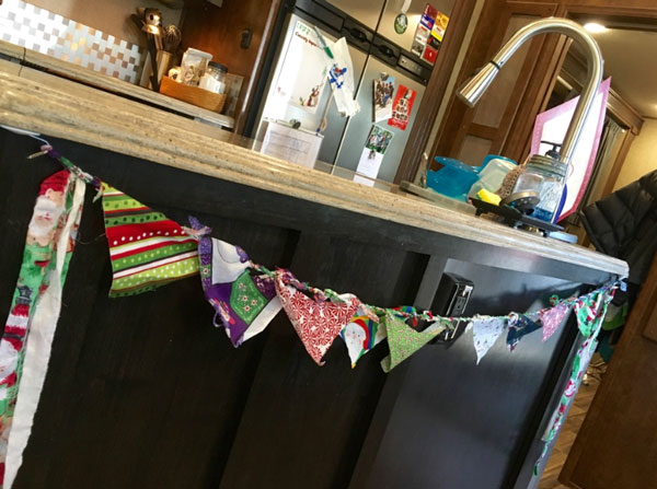 free (or almost free) RV decor ideas