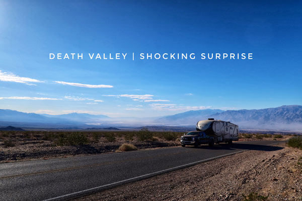 Death Valley shocking surprise