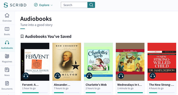 Audible vs  Scribd: why I'm dumping one for the other