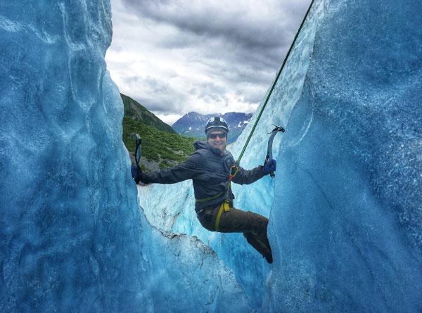 Ice Climbing Exit Glacier